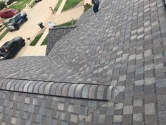 New CERTAINTEED DRIFTWOOD Landmark roof system, installed in two days, including replacement of all L flashing and installation of cobra Ridgevent. Roofing Options, Roofing Systems, Roof Replacement Cost, Roof Coating, Commercial Roofing, Residential Roofing, Roofing Companies, Roof Colors, House Paint Exterior