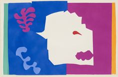 Henri Matisse. The Wolf (Le Loup) from Jazz. 1947. Pochoir from an illustrated book with twenty pochoirs. MOMA NYC
