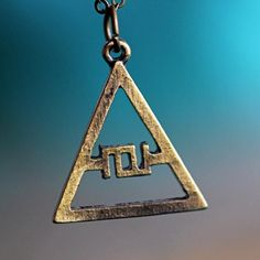 3$ 30 Seconds to Mars Logo Triad JARED LETO/GLYPHICS ECHELON GLYPH SYMBOL necklace