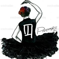 Paramore++Poster+by+RebeccaHeath+on+CreativeAllies.com