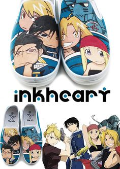 Full Metal Alchemist... MAYBE THIS IS NERDY BUT I WOULD TOTALLY WEAR THESE.