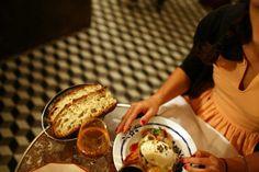 Restaurant Vivant Cave, Paris #snack #sandwiches #winebar #caveamanger #fingerlickingood #goodvibes #openmonday #takeaway #antidepressant #latenighthunger