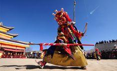 Tibetans recently ob