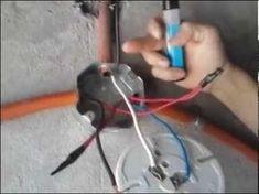 Como controlar una lámpara con dos apagadores de escalera (Método de Puentes) 1ra Parte - YouTube