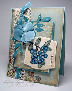 """Flourishes Clear Stamps Berry Sweet Stamp Set 4"""" x 6"""" SS119 - Flourishes Clear Stamps - Stamps"""
