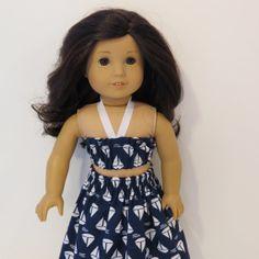 American Girl Doll Clothes  Hawaiian Pa'u Hula by AmericAnnMade, $13.00