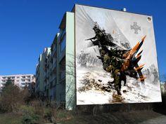 Wizualizacja kolejnego muralu na Zaspie / Visualization of the next #mural in #Zaspa #Gdansk