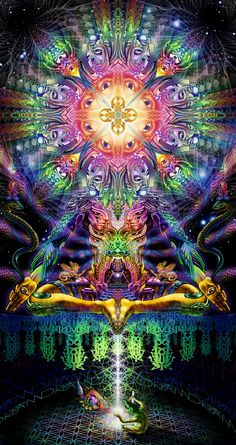 "Hyperdimensional Ponderings  ""We are organic intelligence, living art of existence, imagination made manifest..."""