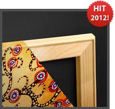Unsere Wandbilder auf 3D-Galerie-Spannrahmen (3cm) aufspannen und das Design noch besser zum Vorschein kommen lassen!