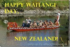 Happy waitangi day New Zealand!
