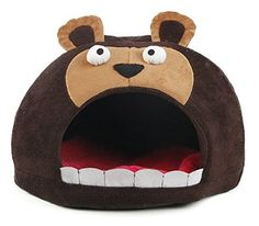 Pet Life Roar Bear Snuggle Plush Polar Fleece Pet Bed *** Learn more by visiting the image link. (This is an affiliate link) #DogBeds