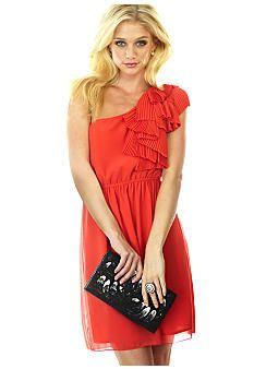 @ Stephanie Powell...coral dress