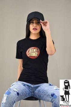 Γυναικείο t-shirt Emily Agent Strange T Shirts For Women, Tops, Fashion, Moda, Fashion Styles, Fashion Illustrations