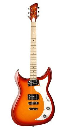 Godin Dorchester Cherry Burst HG MN Solid-Body Electric Guitar -- Check this awesome product by going to the link at the image.