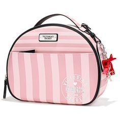 Victoria's Secret Fashion Show Large Travel Case (360 SEK) ❤ liked on Polyvore featuring beauty products, beauty accessories, bags & cases, purple, travel bag, dop kit, makeup purse, cosmetic bags and make up bag