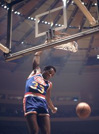 Eric Neel takes a step back in time to remember Julius Erving and David Thompson's dueling legacy in the 1976 ABA All-Star Slam-Dunk Contest. Nc State Basketball, Basketball Is Life, Basketball Pictures, Basketball Legends, College Basketball, Basketball Players, Basketball Shoes, Kentucky Colonel, David Thompson