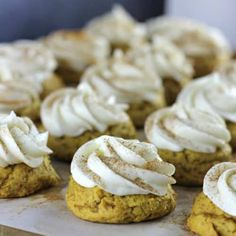 7 Pumpkin Cookie Recipes for Pumpkin Cookie Lovers! Pumpkin Pound Cake, Soft Pumpkin Cookies, Pumpkin Cookie Recipe, Pumpkin Recipes, Cookie Recipes, Baking Recipes, Biscoff Recipes, Snowball Cookies, Bar Recipes