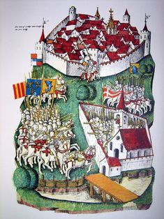 Medieval Life, Medieval Castle, Medieval Art, Renaissance Art, Medieval Manuscript, Illuminated Manuscript, Everything Is Illuminated, Principles Of Art, Albrecht Durer