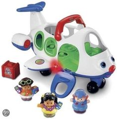 Fisher-Price Little People Vliegtuig