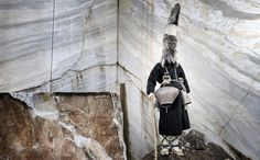 'Faces   Masks' Series by Nikos VavdinoudisCaptures Northern Greece's Odd and Unusual Customs