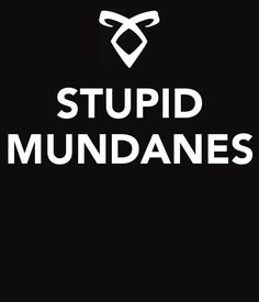 If you read The Mortal Instruments, you'll appreciate this literary insult!