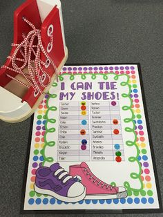 I Can Tie My Shoes Board bqVg3w98