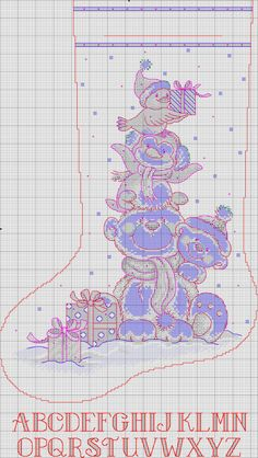 Thrilling Designing Your Own Cross Stitch Embroidery Patterns Ideas. Exhilarating Designing Your Own Cross Stitch Embroidery Patterns Ideas. Cross Stitch Christmas Stockings, Cross Stitch Stocking, Christmas Stocking Pattern, Xmas Cross Stitch, Cross Stitch Heart, Cross Stitch Kits, Christmas Cross, Cross Stitching, Cross Stitch Embroidery