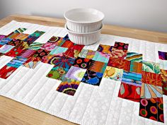 The Quilting Violinist: Lots of table runners!