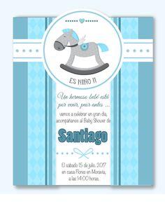 Tarjetas De Invitaciónes Para Baby Shower De Niño Imagui Baby