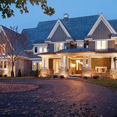 Gravel Driveway With Small Roundabout Design Ideas, Pictures, Remodel, and Decor - page 4
