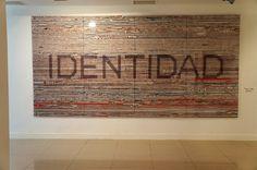 """""""Identidad"""", Solimán López Exposición """"El barco de Teseo"""" Sala Amadís. Injuve #Madrid #artecontemporáneo #contemporaryart #arteespañol #exposiciones #Arterecord 2015"""