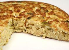 Tortilla de bacalao con pimiento verde para #Mycook http://www.mycook.es/cocina/receta/tortilla-de-bacalao-con-pimiento-verde