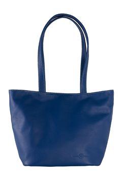 sac soleil cuir bleu - fabrication française #cuir #madeinfrance #tournon #tournonsurrhône #maroquinerie #leather #Leatherwork #faugierfrance #florencefaugier #sac #sacàmains