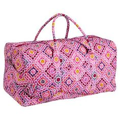 Quilted Sleepover Ruby Warm Duffle #pbteen. cute travel bag for L.