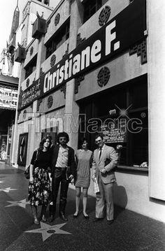 Christiane à Hollywood en 1981.  Photo de Brad Elterman.
