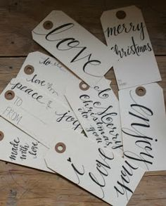 Wednesday Roundup ... Christmas Gift Tags | Put A Bird On It