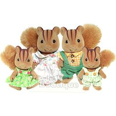 Calico Critters squirrel family