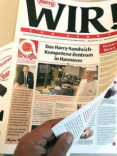 Editorial Design  »WIR! von Harry« Editorial Design, Portfolio, Hannover, Newspaper, Things To Do, Editorial Layout