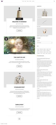 Magazine Stand, Light Of Life, Premium Wordpress Themes, Clean Design, Custom Logos, Contemporary Design, Lifestyle Blog, Colorful Backgrounds, Web Design
