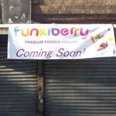"@funkiberry's photo: ""#funkiberry #froyo #comingsoon to #kingshighway #Brooklyn #ny big thanks to all the customers for making this possible"""
