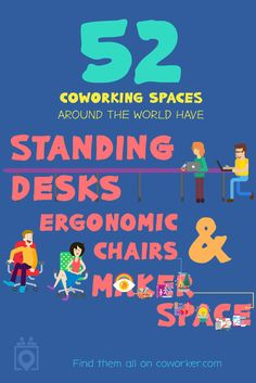 No matter what you're looking for in an work environment, Coworker has exactly what you are looking for. Simply select a location, choose your desired amenities, and BOOM, Coworker will pull up a list of perfect coworking spaces for you! | Coworking Space, Shared Office Space, Coworking, Digital Nomads, Makers Space, Standing Desks