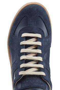 Leather Replica Sneakers | Maison Margiela