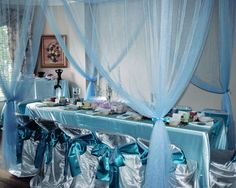 mermaid party room