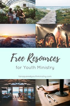 Unsplash is our favourite place to find free, non-cheesy stock photos to use for Youth Min! What are your favourite free youth resources? Tansquared Youth Ministry