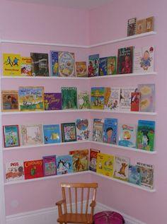 Easy and Unique Kids Book Shelf Creation Design
