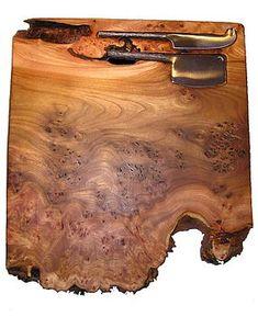 Large Burr Elm Cheeseboard