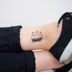 Ahoy, there!   Ship Tattoo