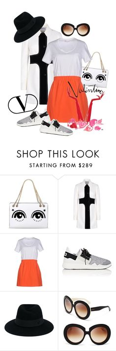 """""""Wearing Red Valentino"""" by captainsilly ❤ liked on Polyvore featuring RED Valentino, Y-3, Maison Michel and Valentino"""