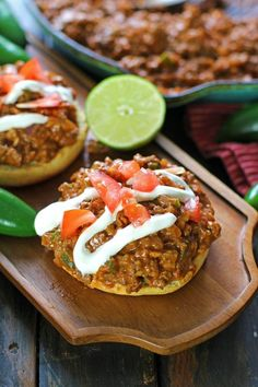 Cheesy Taco Sloppy Joes are one of the easiest dinners you will ever make. Bonus points for being made in a one pan in less than 30 minutes.