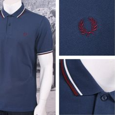 The twin tipped shirt was the first piece to carry our legendary tipping, and it remains at the core of everything we do. Fred Perry Polo Shirts, Fred Perry Shirt, Punk Shop, Twin Tips, Laurel Wreath, Pique Polo Shirt, Clothes For Sale, Polo Ralph Lauren, Arrow Keys